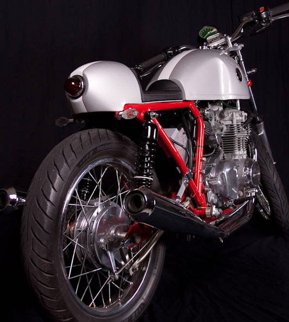 Brad Stevens CB350F