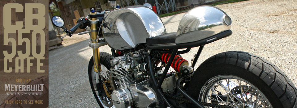 Meyerbuilt CB550 Cafe Racer