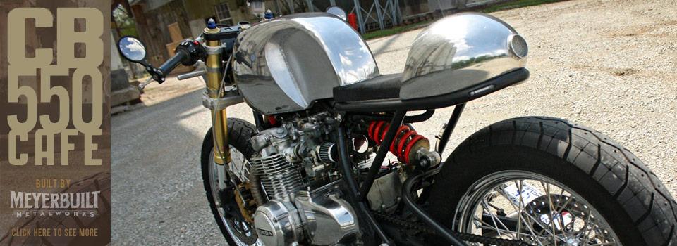Meyerbuilt CB550 Cafe Racer