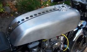 XS650 Cafe Racer Aluminum Tank
