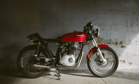 Stevenson CB350 cafe